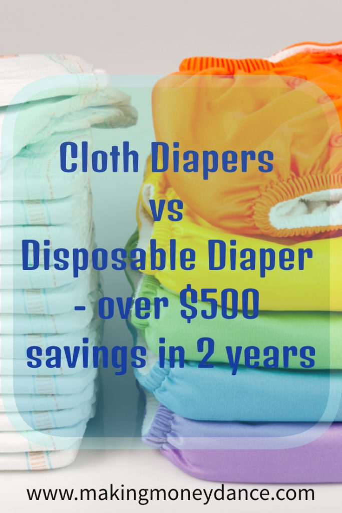 Cloth Diapers Vs Disposable Diapers 2 year cost analysis