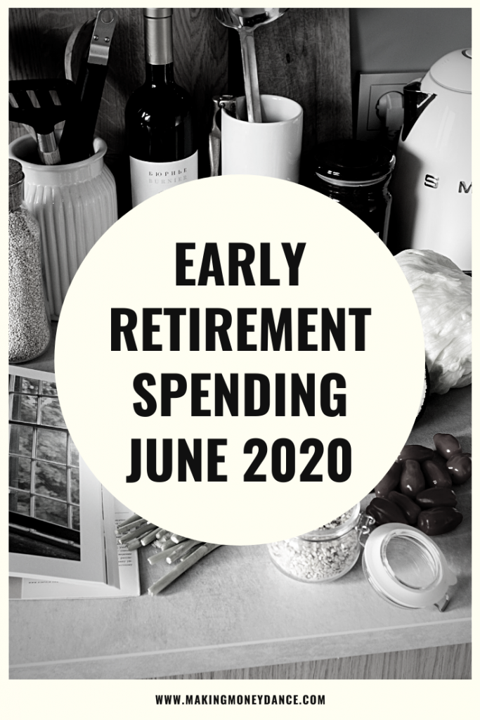 The Monthly Expenses of an Early Retiree - June 2020