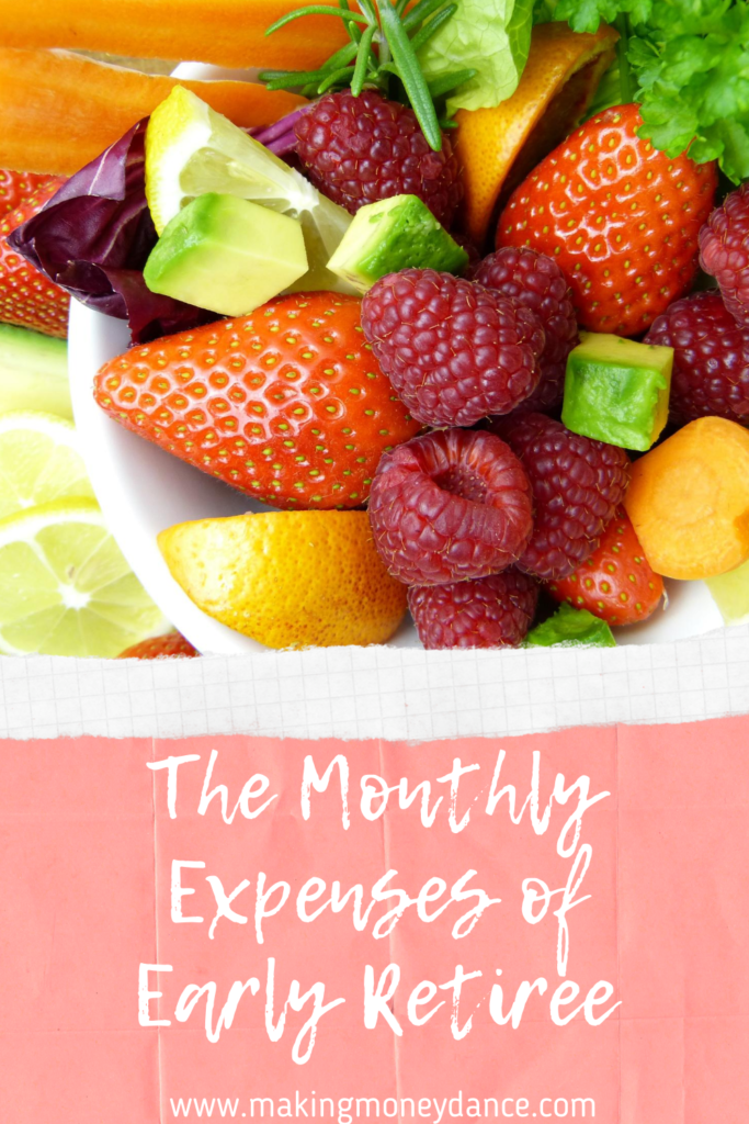 The Monthly Expenses of an Early Retiree